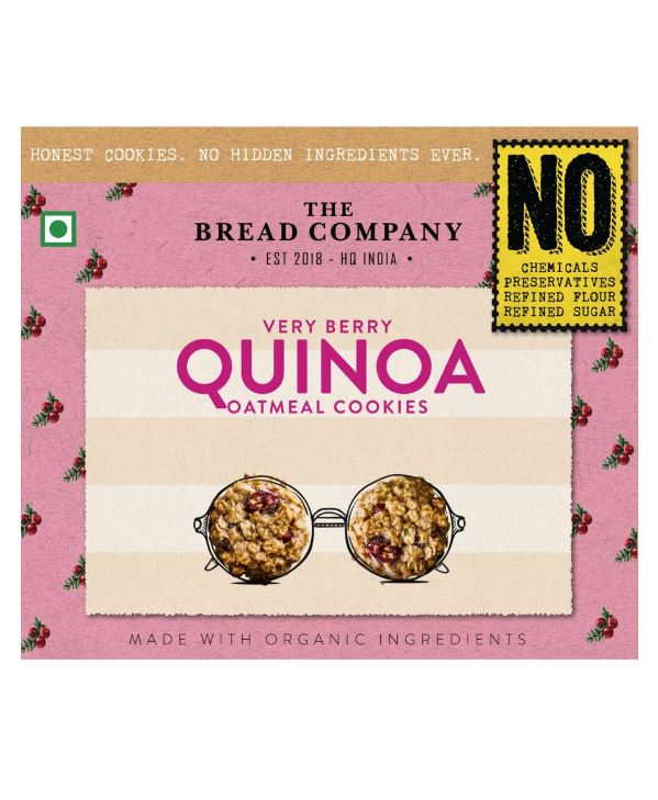 The Bread Company's Very Berry Quinoa Oatmeal Cookies: #FirstImpressions