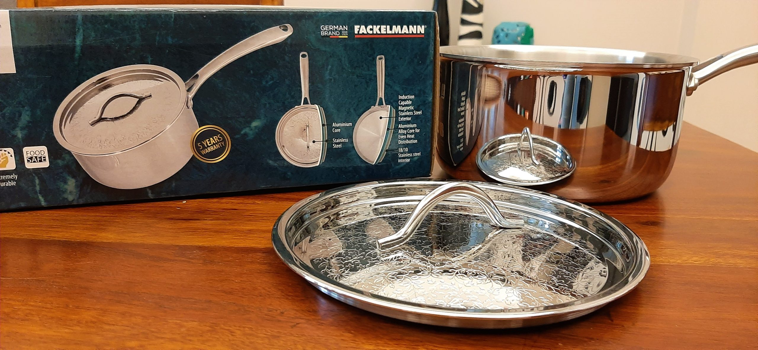 Fackelmann's TriPly Saucepan With SS Lid: #FirstImpressions