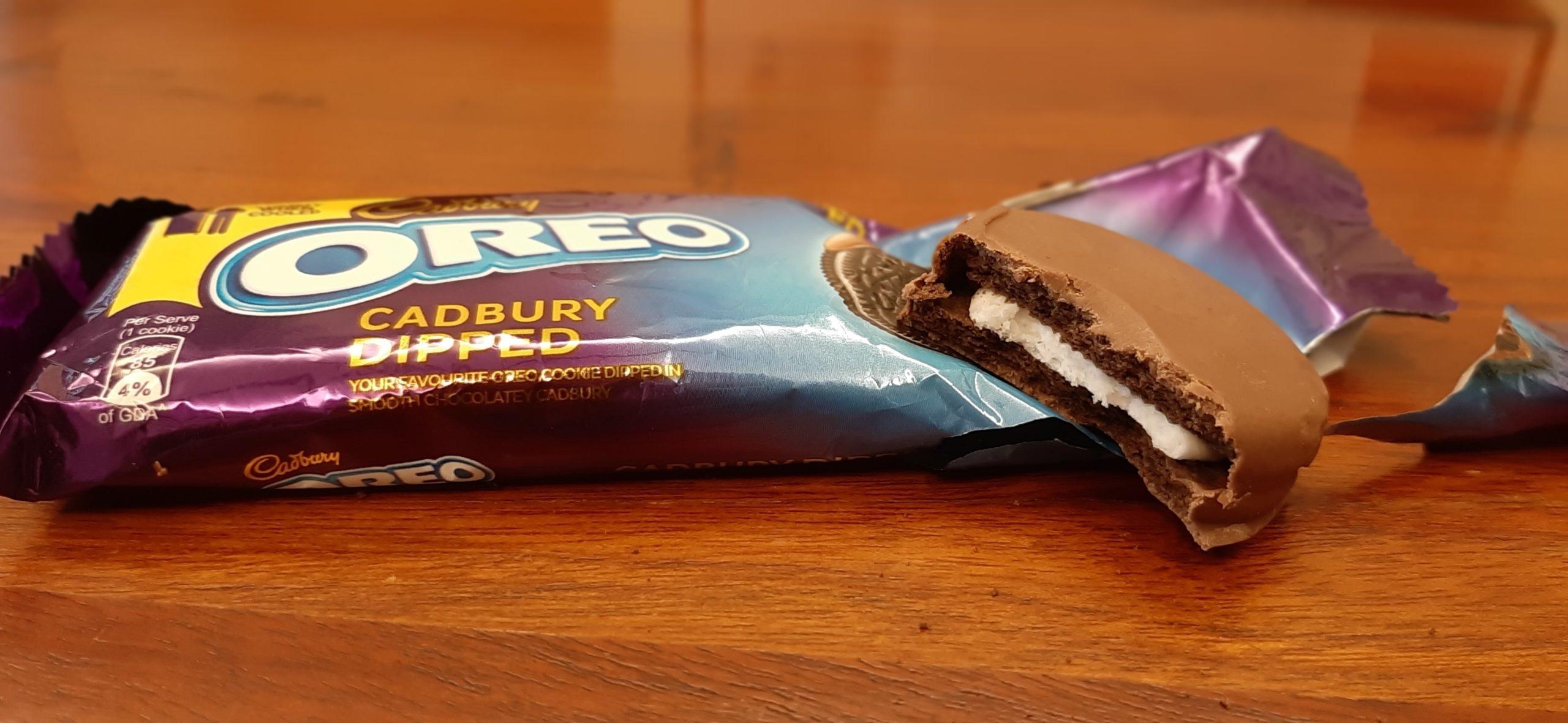 Cadbury Oreo Chocolate Dipped Cookies: #FirstImpressions