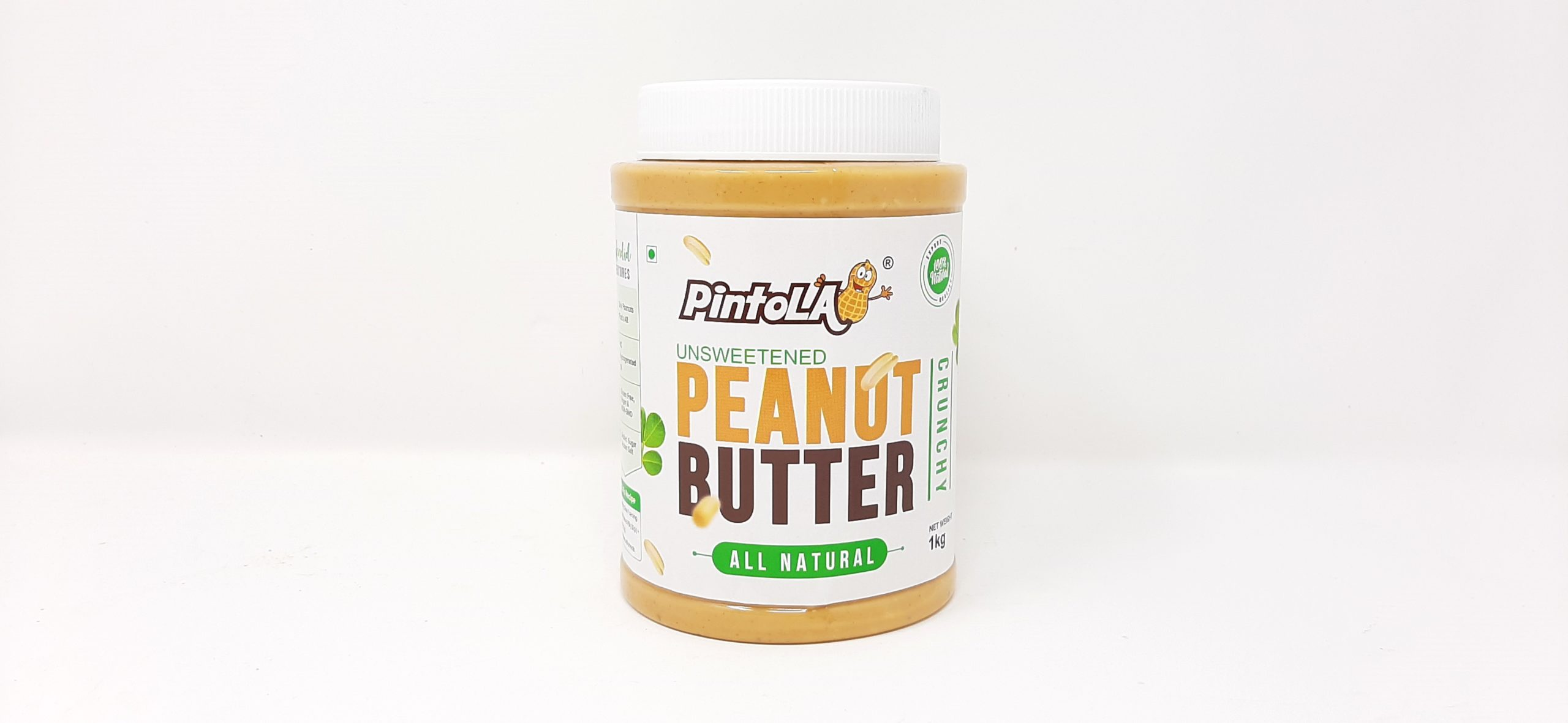 Pintola unsweetened Peanut butter- All natural