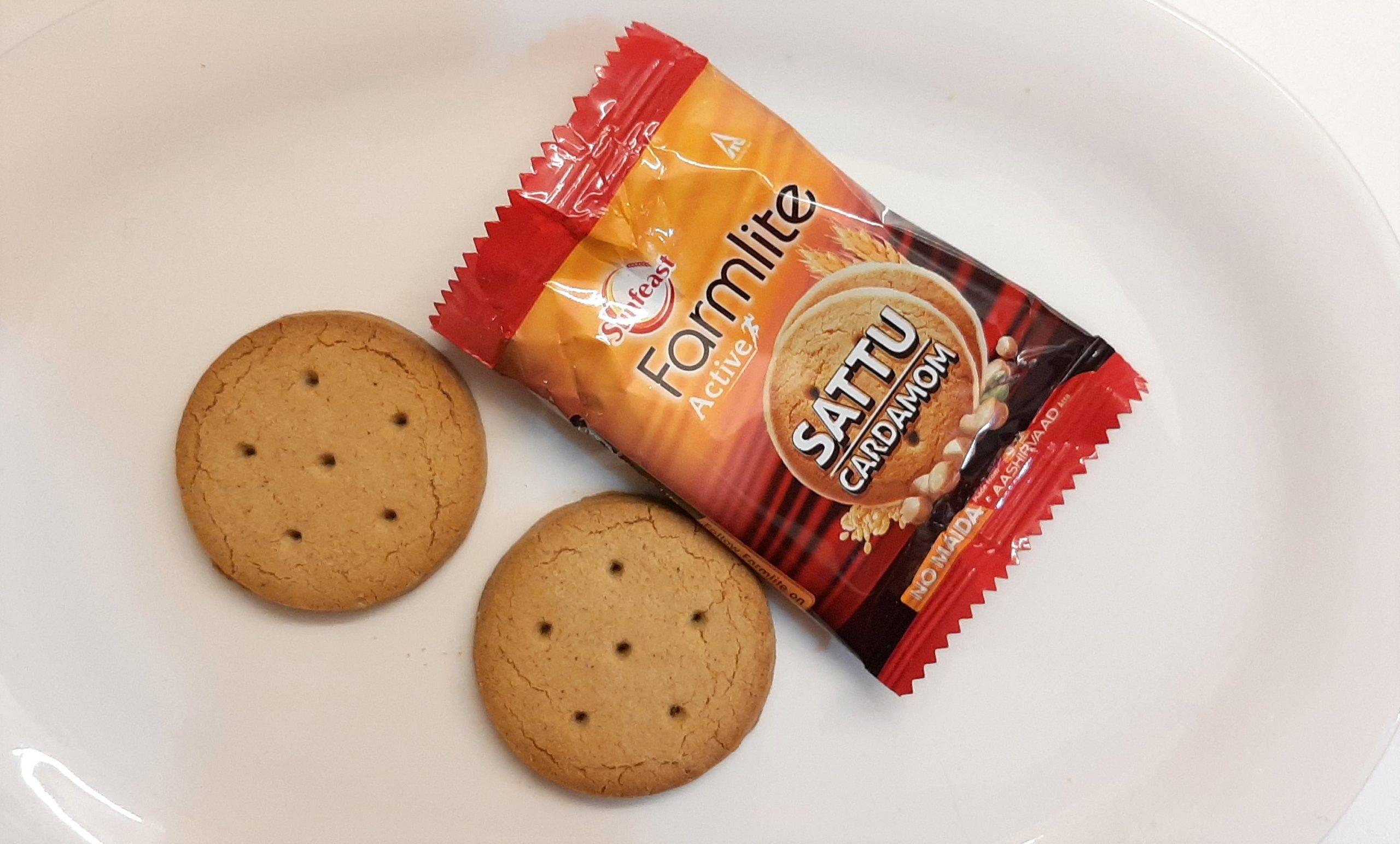 Sunfeast's Sattu Cardamom Biscuits Are Delish! #FirstImpressions