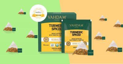 vahdam turmeric spiced tea review