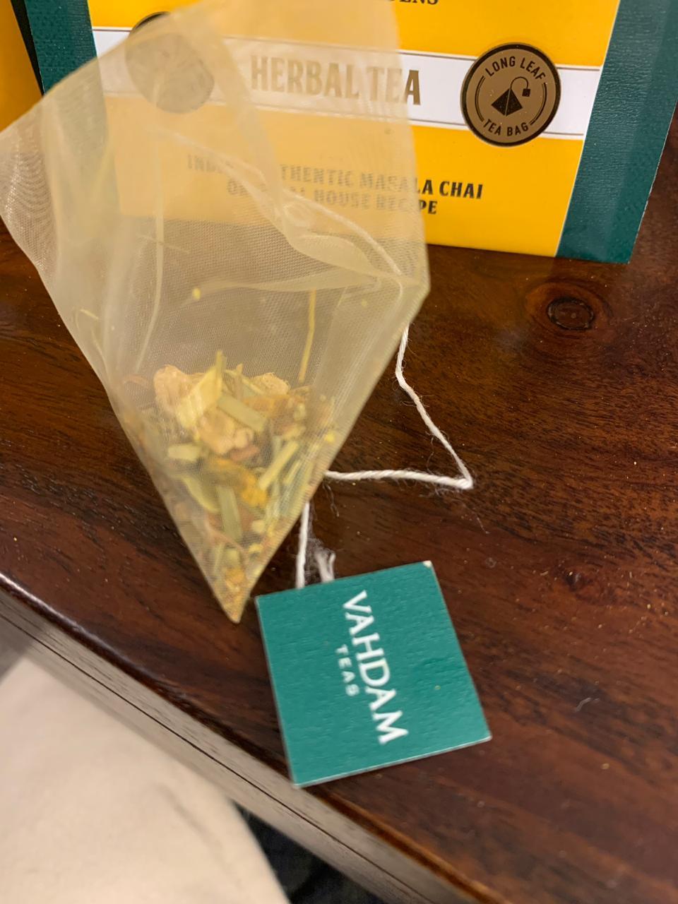Vahdam Turmeric Spiced Tea: #FirstImpressions