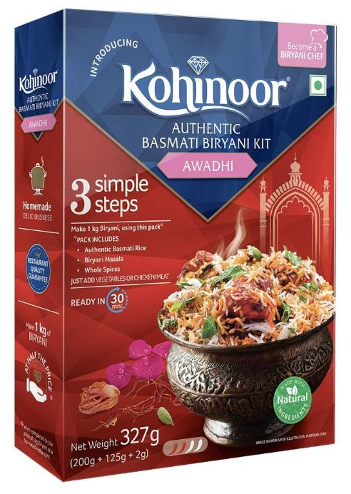 Mishry Mums Review: Kohinoor's Awadhi Biryani Kit