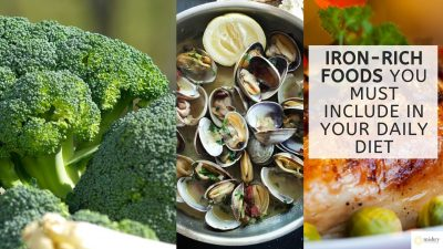 iron-rich foods you must include in your daily diet