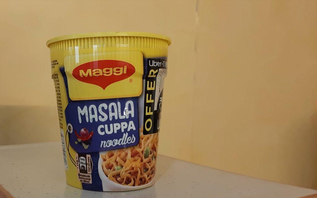 Maggi Masala Cuppa Noodles: #FirstImpressions