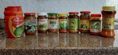 best mango pickle brands in india