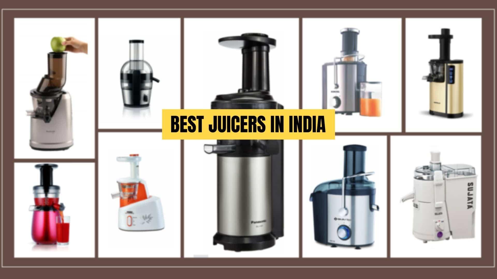 best juicers in india 2021