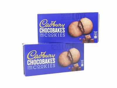 Cadbury Chocobakes Choc Filled Cookies
