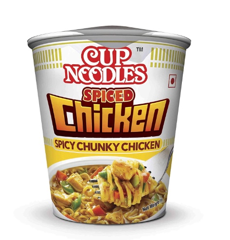 Nissin Cup Noodles – Spiced Chicken (Spicy Chunky Chicken): #FirstImpressions