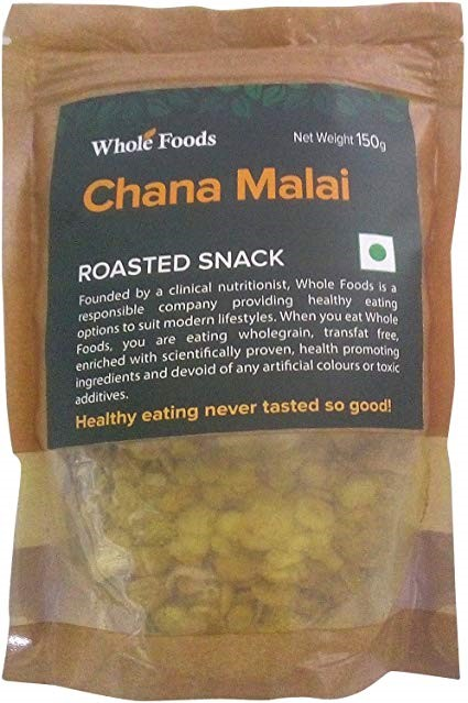 Mishry Mums Review: Whole Foods Roasted Chana Malai