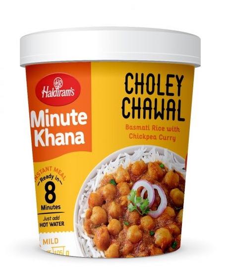 Haldiram's Minute Khana – Choley Chawal: #FirstImpressions