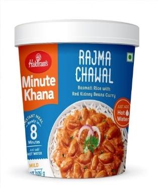 Haldiram's Minute Khana – Rajma Chawal: #FirstImpressions