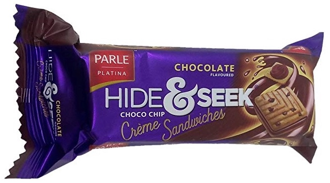Parle Hide and Seek Chocolate Creme Sandwiches – Choco Chip: #FirstImpressions