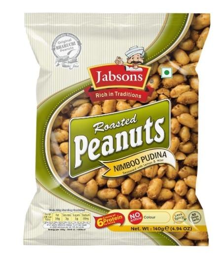 Jabsons Roasted Peanuts – Nimboo Pudina Flavor: #FirstImpressions
