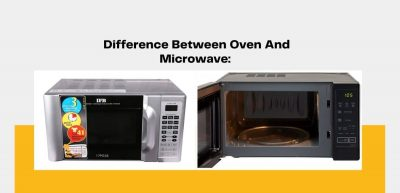 difference between oven and microwave