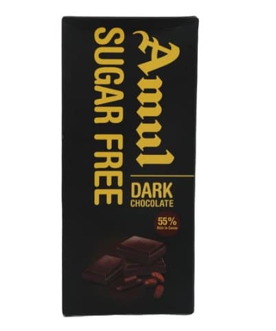 Amul Sugar-Free Dark Chocolate: #FirstImpressions