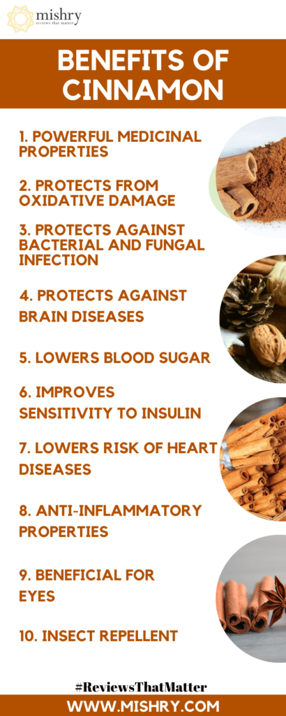 Benefits Of Cinnamon: 11 Healthy Benefits Of Cinnamon (Dalchini)