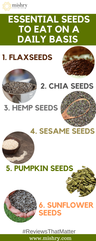 Essential Seeds To Eat On A Daily Basis
