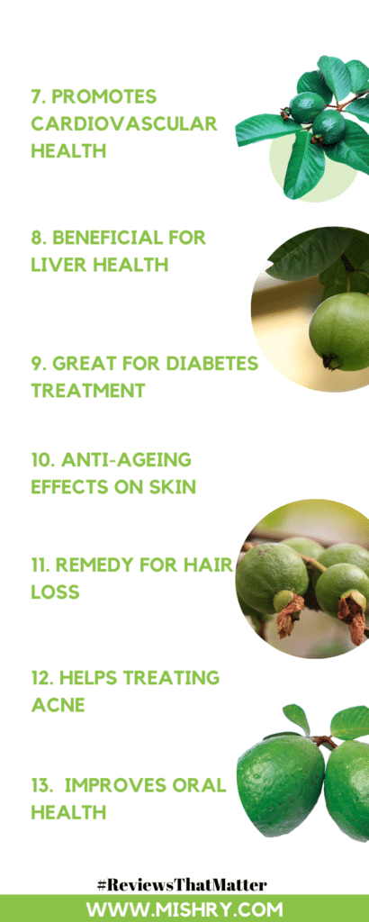 Benefits Of Guava Leaves For Health And Beauty