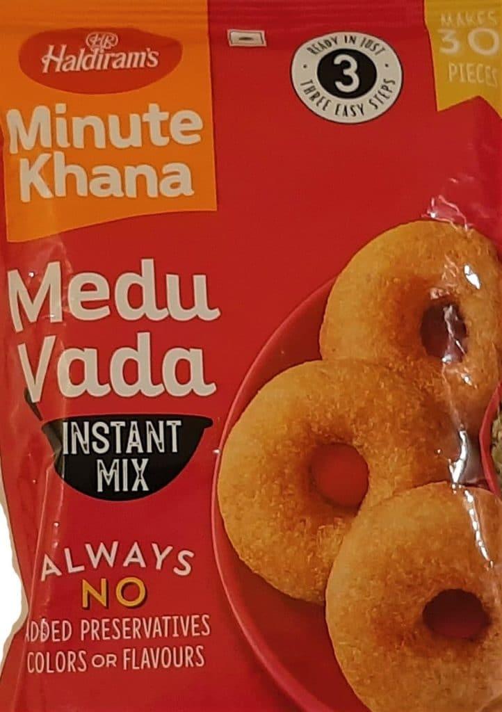 Haldiram's Medu Vada Instant Mix Review