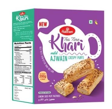 Haldiram's Tea Time Khari: #FirstImpressions