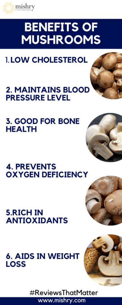 Impressive Health Benefits Of Mushrooms   Side-Effects