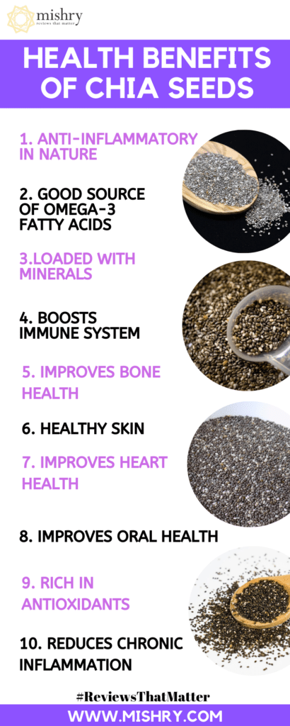 Health Benefits Of Chia Seeds & Side-Effects You Should Know