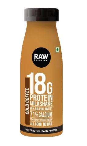Raw Pressery 18g Protein Milkshakes Review