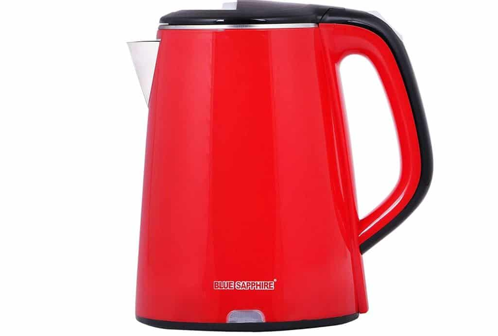 Blue Sapphire Stainless Steel Cordless Automatic Electric Kettle- ebst electric kettle
