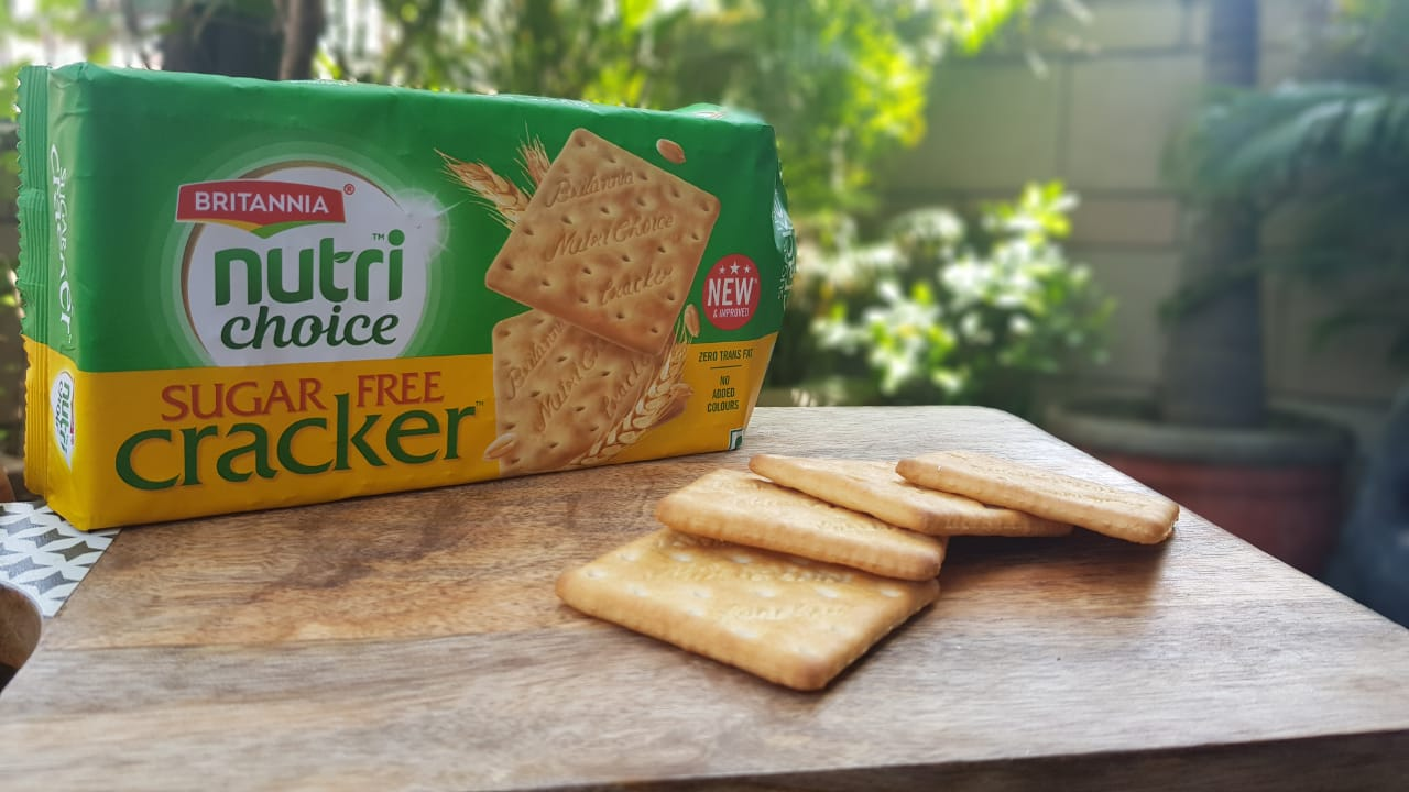 The New Britannia Nutri Choice Sugar Free Cracker Review