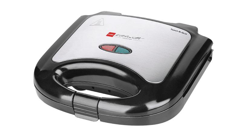 Cello Super Club 800-Watt Toaster And Grill Sandwich Maker