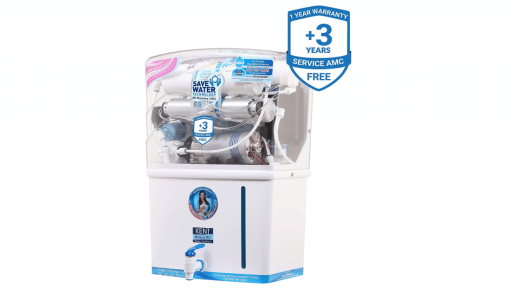 Kent Grand Plus 8 L Mineral RO + UV/UF With TDS Controller Water Purifier