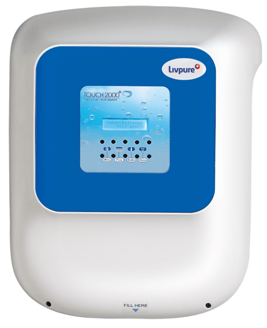 Livpure Touch 2000 Plus RO+UV+UF Water Purifier With Pre Filter