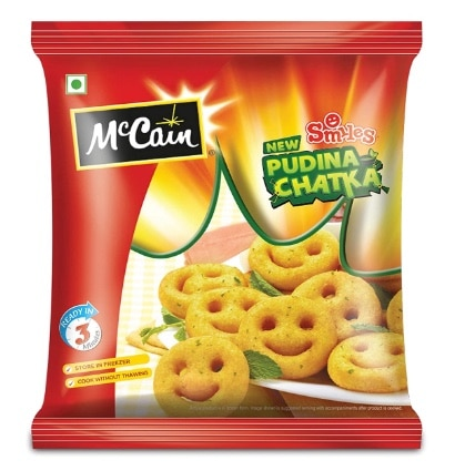 McCain Smiles All New Pudina Chatka Review