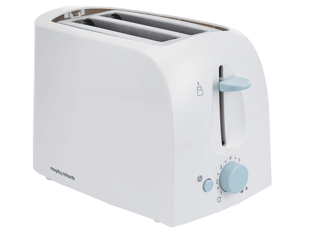 Morphy Richards AT-201 2-Slice 650-Watt Pop-up Toaster- best electric toaster in India