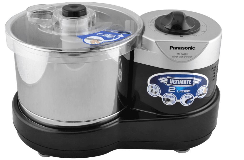 Panasonic MK-SW200BLK Wet Grinder- best wet grinders in India 2020