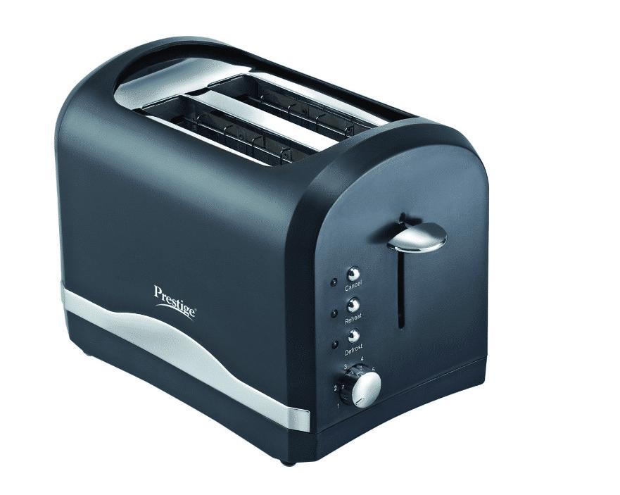 Prestige PPTPKB 800-Watt 2-Slice Pop-up Toaster- best toaster in India 2020