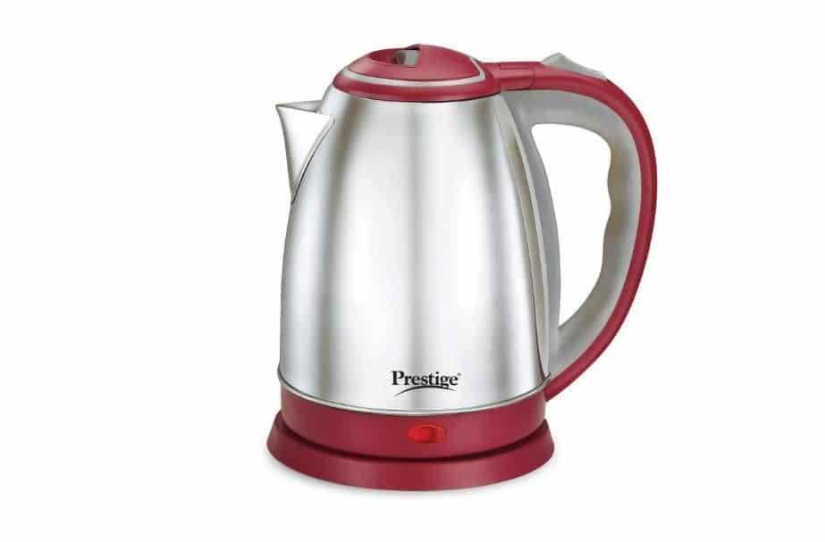 Prestige 1.5 Litre Kettle 1500-Watts- best electric kettle in India