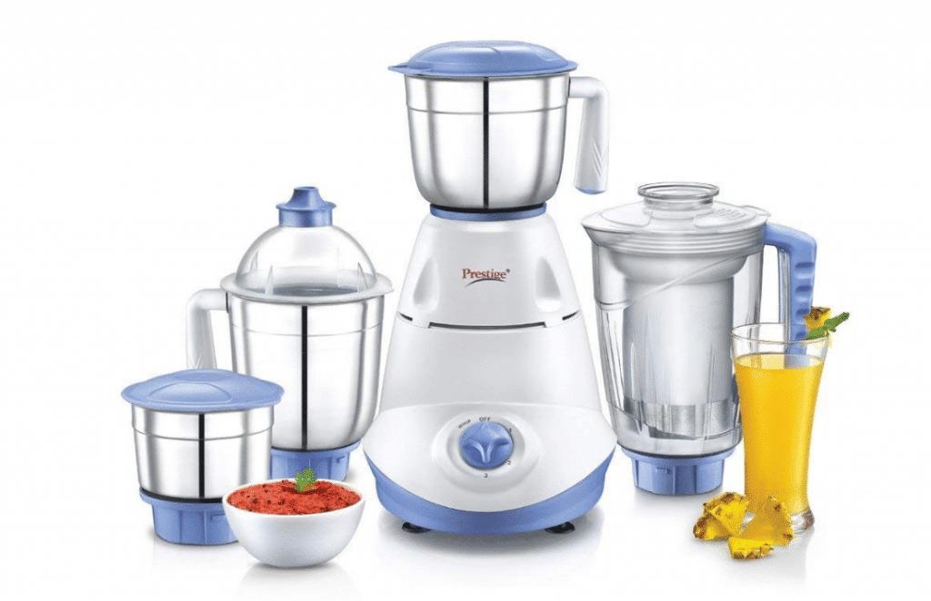 Prestige Iris Mixer Grinder- best juicer mixer grinder in India 2020