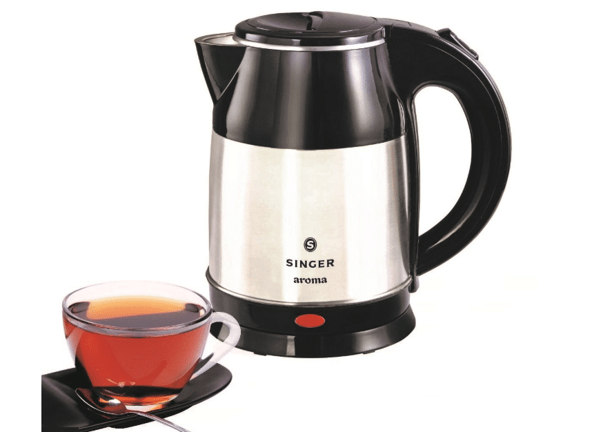 Singer Aroma 1.8 L Electric Kettle- Best electric kettle in India 2020
