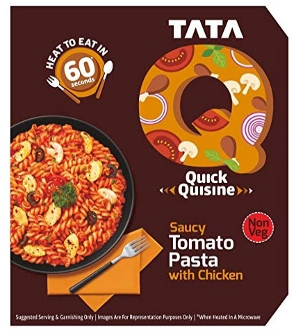 Tata Q – Quick Quisine Chicken Pasta Review