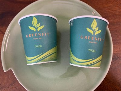 greenfit tulsi green tea cups review