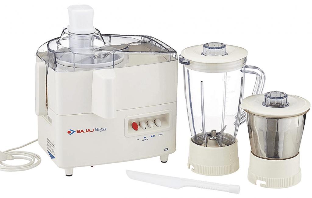 Bajaj Majesty JX Juicer Mixer Grinder- best juicer mixer grinder in India