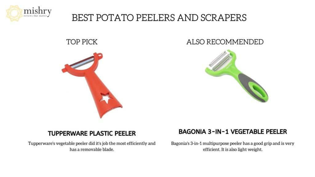Best Potato Peelers And Scrapers For Your Kitchen