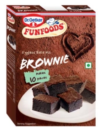 Dr. Oetker Fun Foods Bake Mix Brownie Review