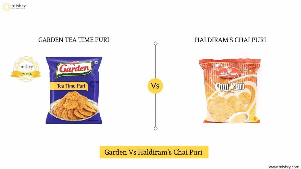 Which Is The Tastier Tea Time Snack? Haldiram's Chai Puri Or Garden Tea Time Puri?