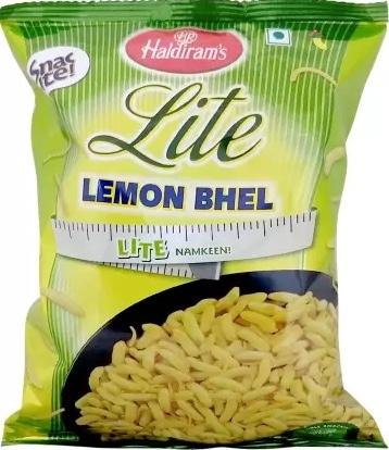 The Healthier Diet Bhel  Garden Vs Haldiram's Review
