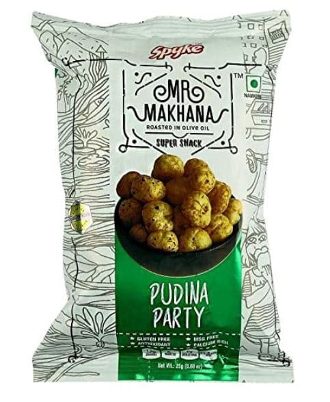 Mishry Mums Review: Mr. Makhana Roasted Foxnuts- Pudina Party