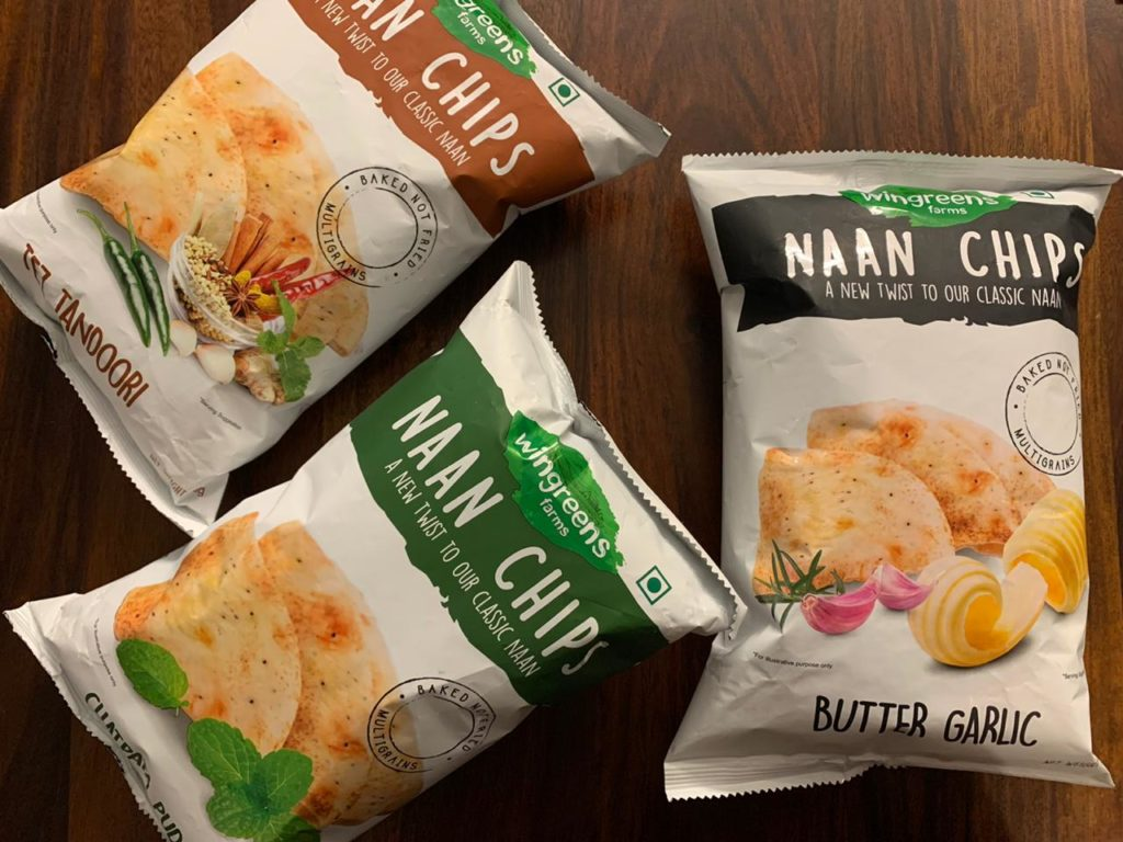 Wingreens Farms Naan Chips Review